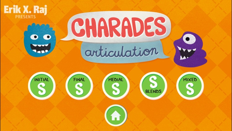 Charades Articulation for Speech Therapy