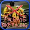 超级摩托车自行车赛比赛的危险公路自行车骑手模拟器冠军的追求