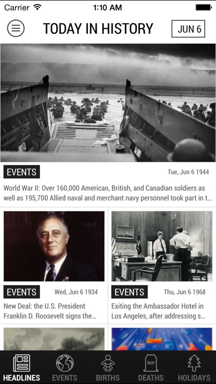 Today In History Lite Edition