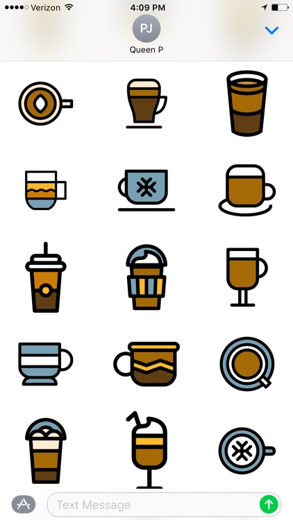 Coffee Time Stickers screenshot-4