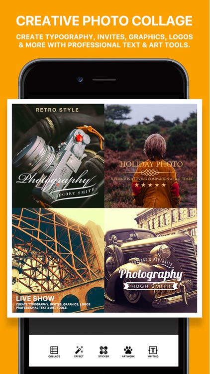 Photo Poster Pro - photo frame editor and picture collage maker