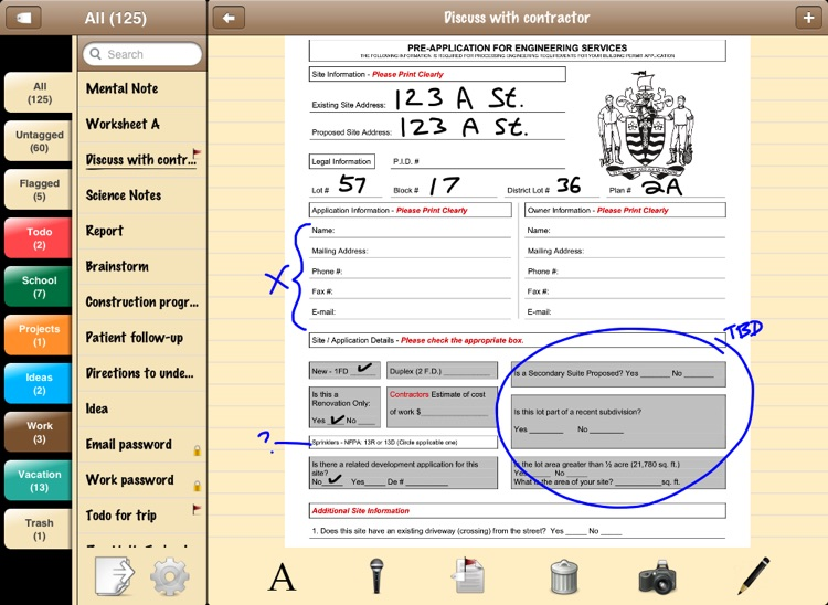 Mental Note for iPad - the digital notepad screenshot-3