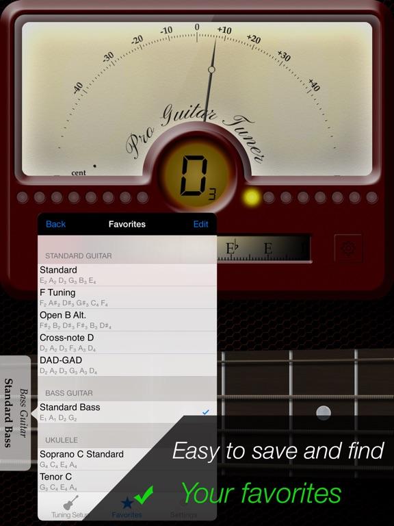 Pro Guitar Tuner Screenshots