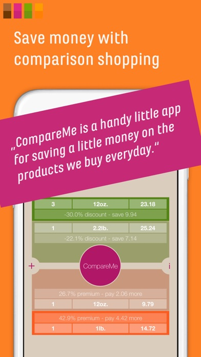 CompareMe Shopping Calculator app image