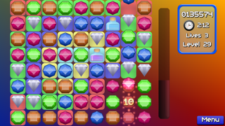 Jewel Match Jam : Pop and blast out 3 gems mania!Captura de pantalla de5
