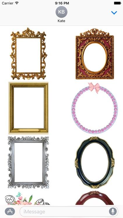 Mirror Mirror - Sticker Frames screenshot-4