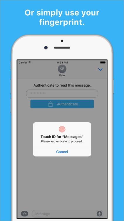 Secretly Messaging screenshot-3