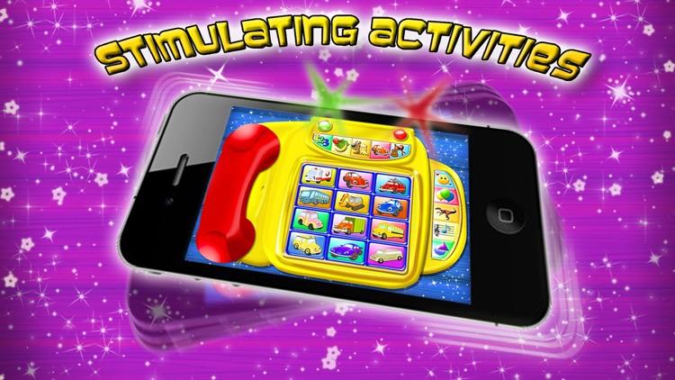 Preschool Toy Phone - Activities for Toddlers screenshot-3