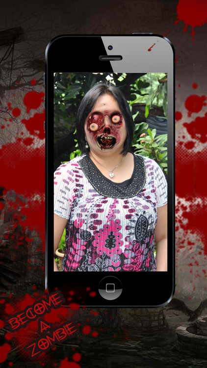 Halloween Photo Booth - Monster & Zombie Maker screenshot-3