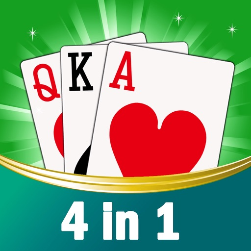 4 in 1 New for FreeCell, Spider, Hearts