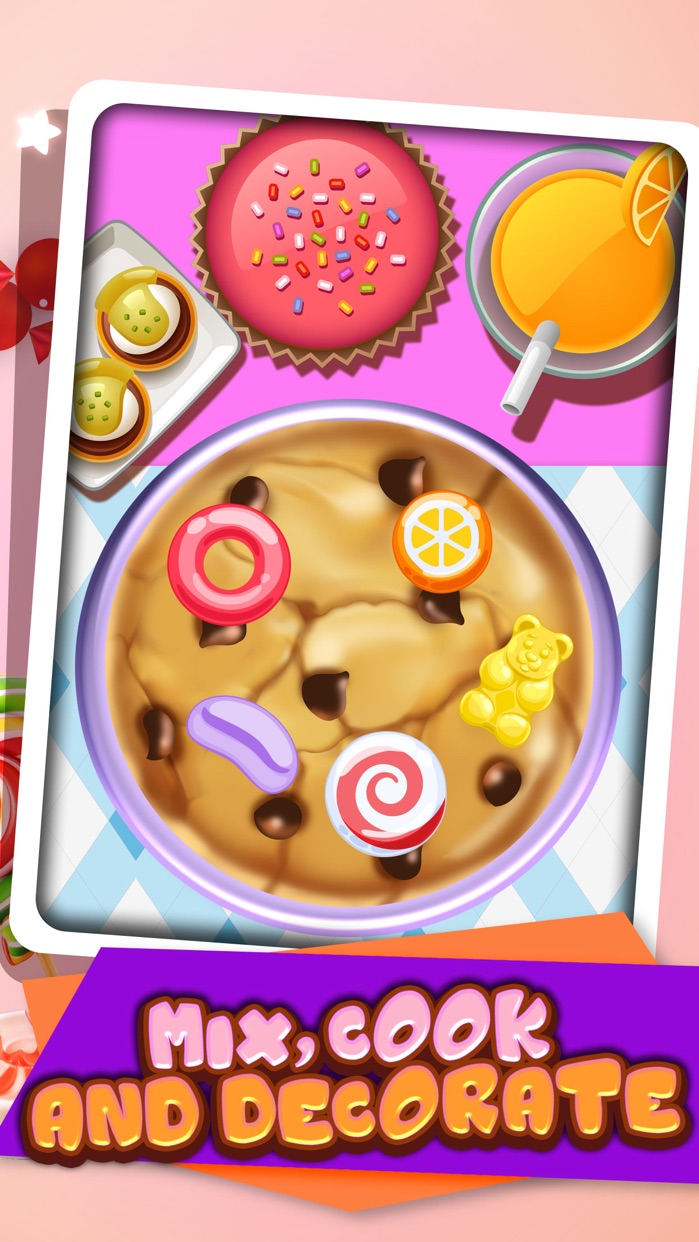 Cookie Candy Maker - Food Kids Games Free! Screenshot