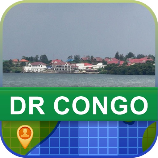 Offline DR Congo Map - World Offline Maps