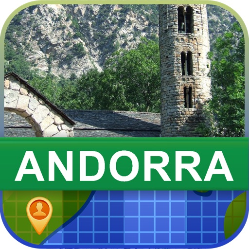 Offline Andorra Map - World Offline Maps