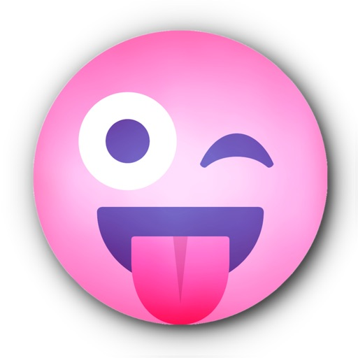 PINK Emoji • Stickers for iMessage