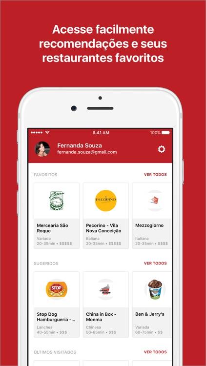 iFood Delivery e Entrega de Comida screenshot-4