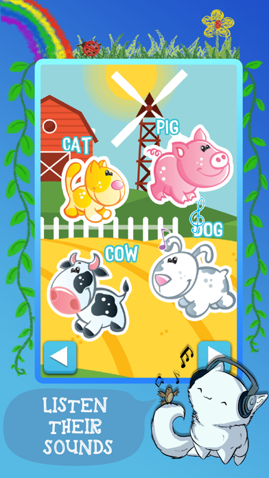 My First Animals - Fun Game for Boys and Girls screenshot one