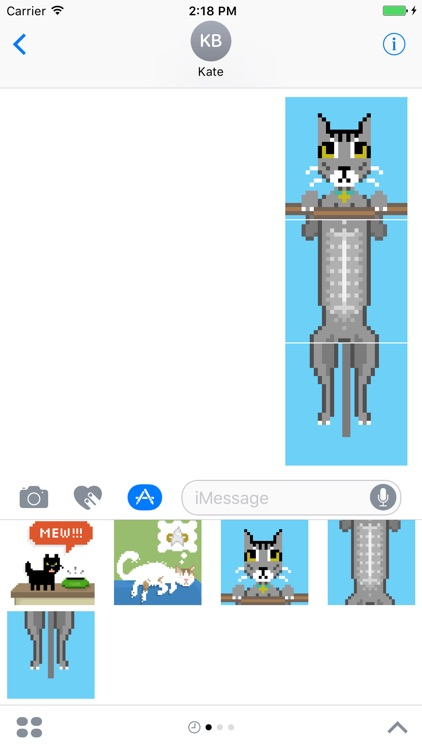 Pixel Kitties Stickers