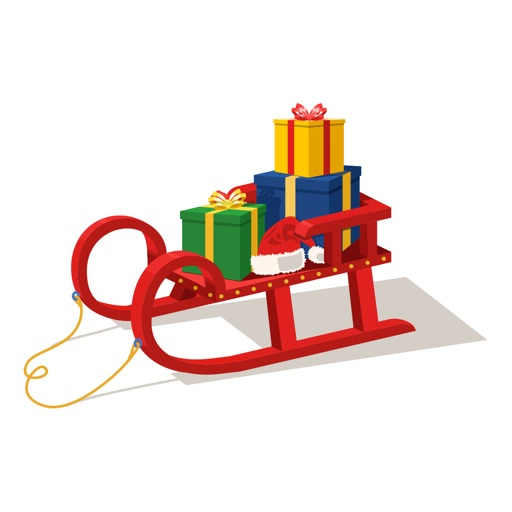 SleighMoji, Christmas Sleigh Stickers for iMessage