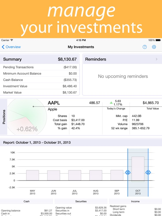 Banktivity – iPad screenshot-3