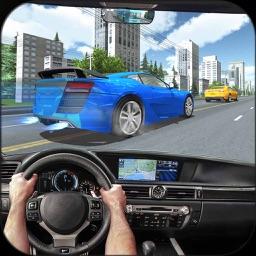 City GT Car Racer in Traffic