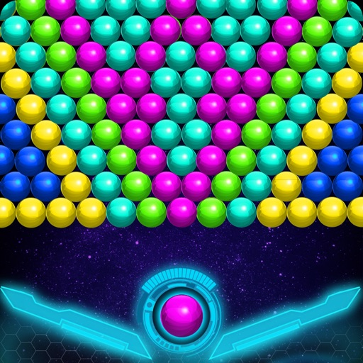 Bubble Shooter Sky Escape