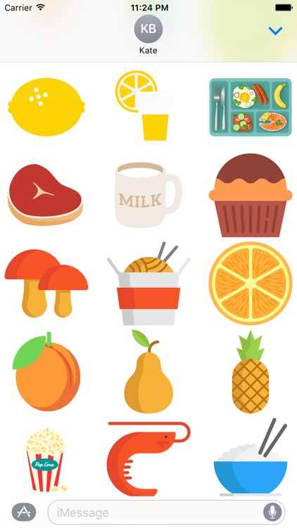 Mealtime Stickers screenshot-3