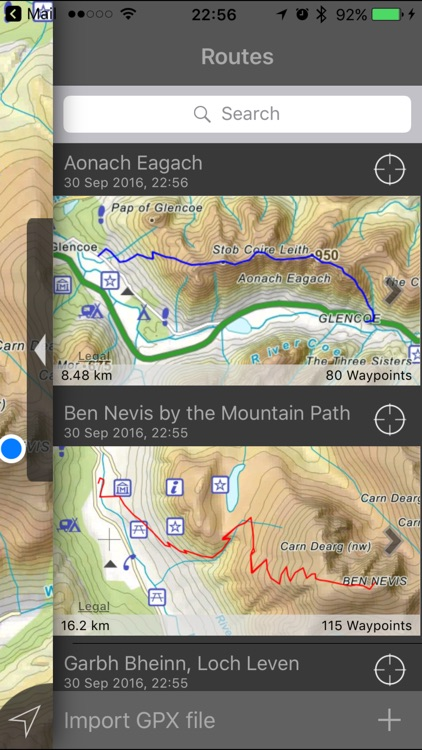 Ben Nevis & Glen Coe Maps Offline screenshot-1