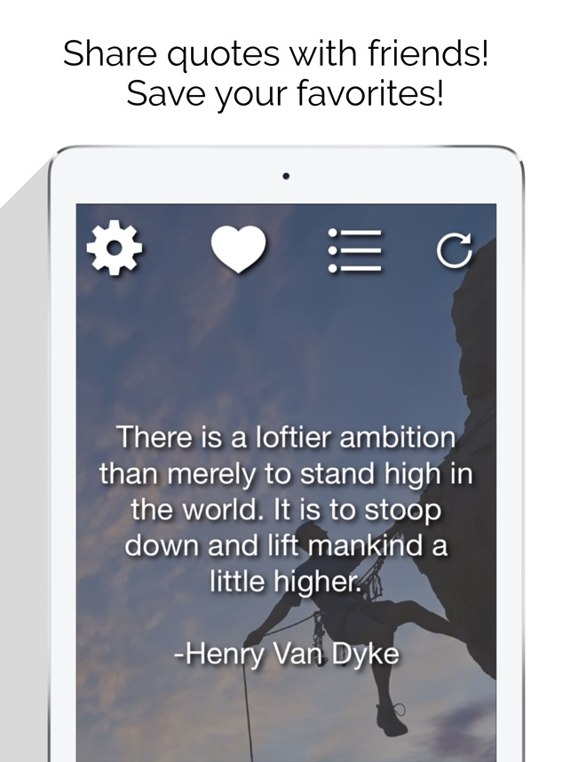 Daily Inspirational Motivational Famous Quotes on the App Store