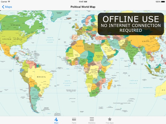 Atlas for ipad maps facts by appventions ios united kingdom screenshots gumiabroncs Image collections