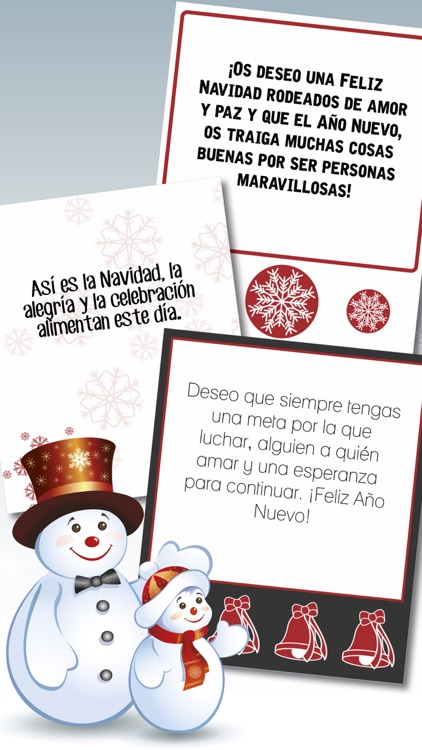 Christmas & New Year greeting messages in Spanish screenshot-4