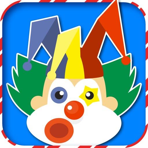 Joker Clown 2K16 Stickers