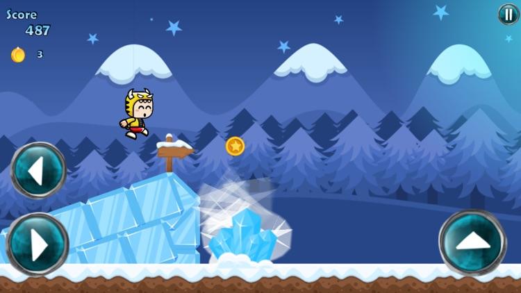 Running Mascot Winter World