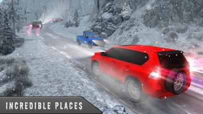雪の 3 D シミュレータ運転 - 4 x 4 プラド ドライバー ゲームのおすすめ画像5