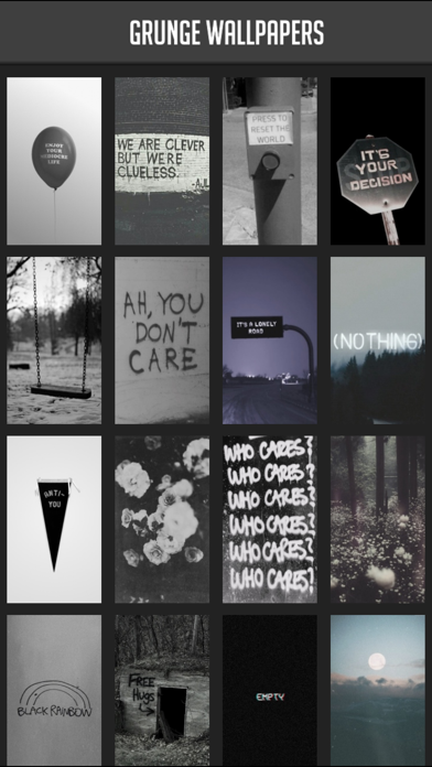 Grunge Wallpapers By Atlas Labs Ios United States Searchman App Data Information