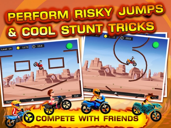 Top Bike - Best Motorcycle Stunt Racing Game Скриншоты8