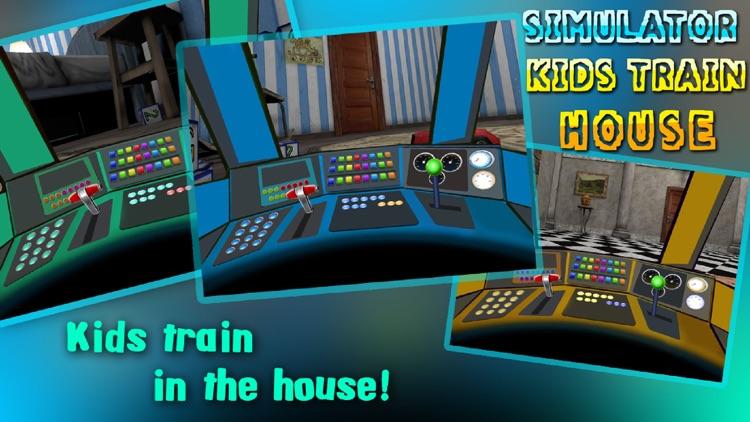 Simulator Kids Train House