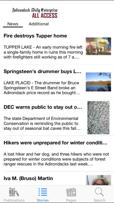 adirondack daily enterprise all access | app price drops