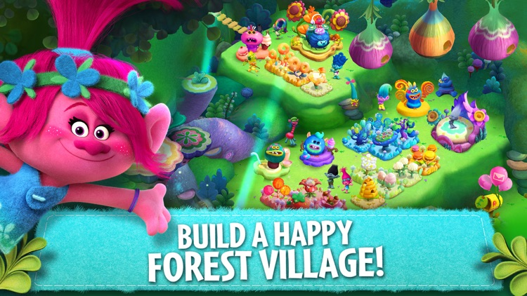 Trolls: Crazy Party Forest! screenshot-0