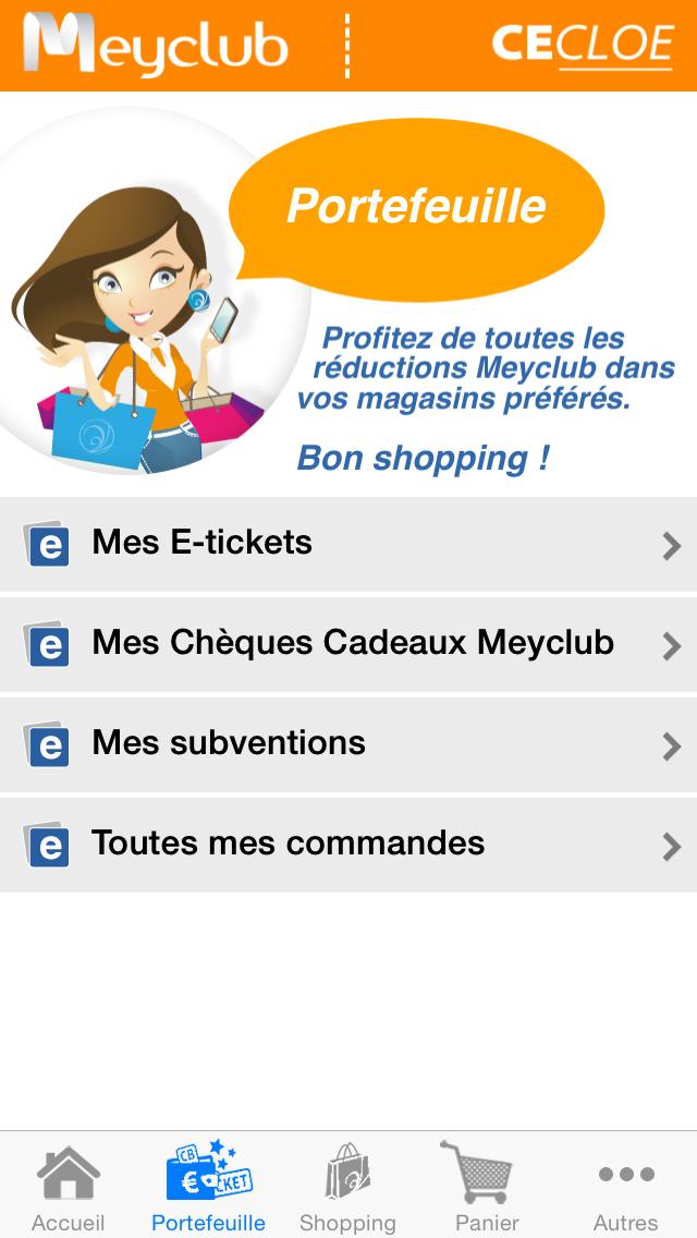 Meyclub Screenshot