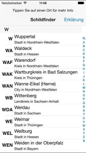 Deutscher Schildfinder Im App Store