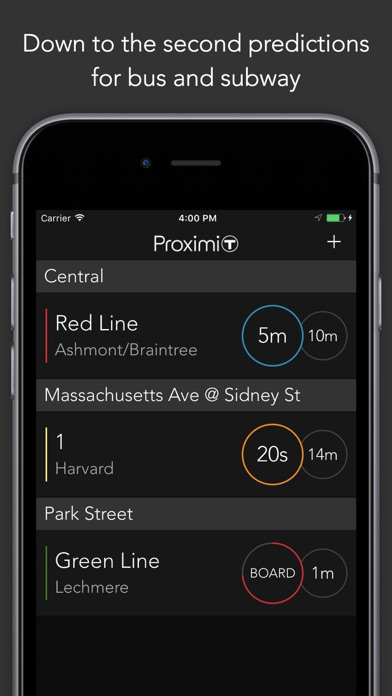 ProximiT: MBTA Bus and Subway for Windows