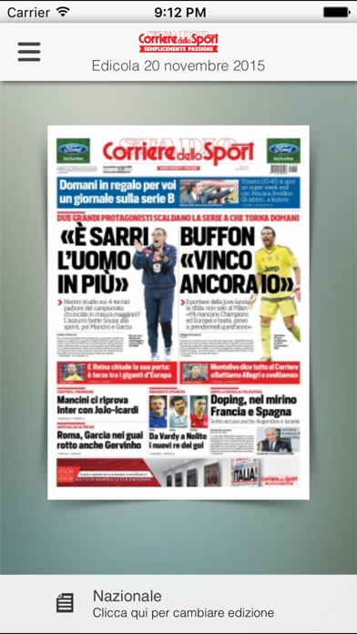 Corriere Dello Sport Hd review screenshots
