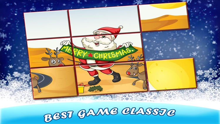 Christmas Sliding Puzzle for Kids
