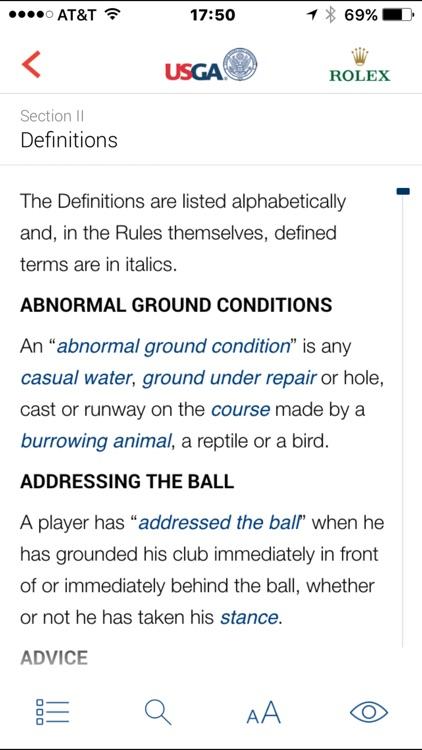 The Rules of Golf screenshot-3