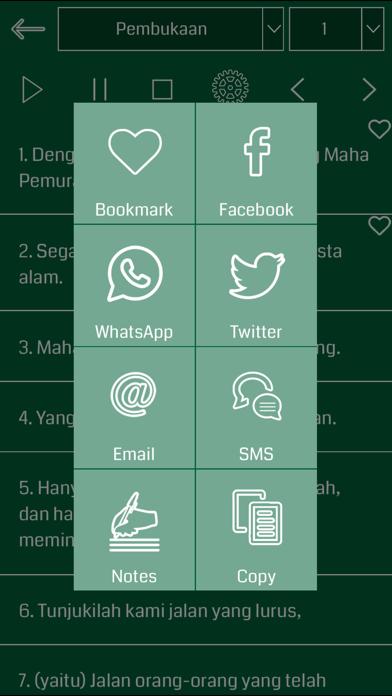 Indonesian Quran Audio screenshot three