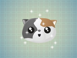 Tricoloured Cat Faces Stickers will make your chat more interesting and funny