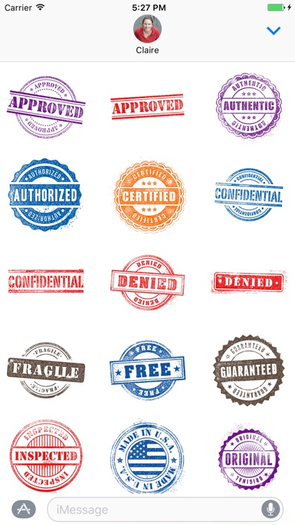 Rubber Stamp Stickers screenshot-3