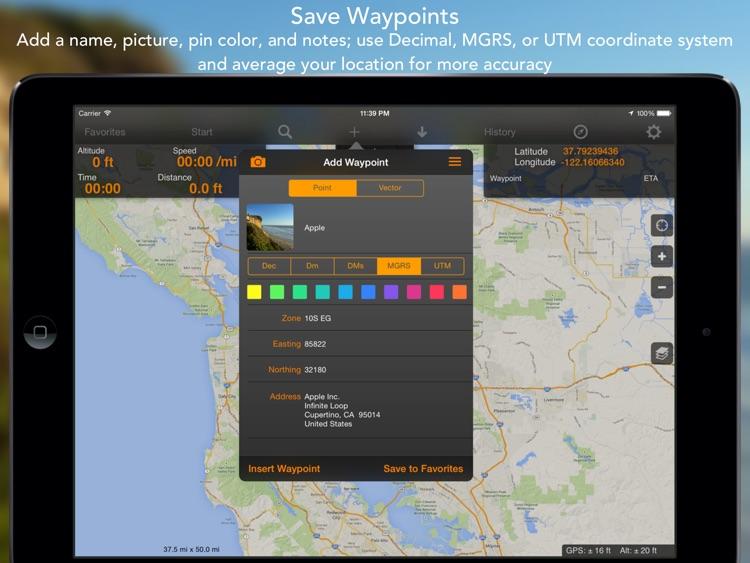 GPS Tracks HD screenshot-3