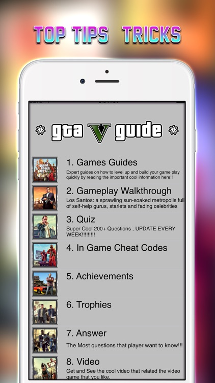 Guide Cheats for GTA V, GTA 5 Grand Theft Auto by Kittikun Sudlhor