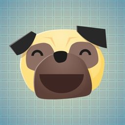 Sticker Me: Pug Faces